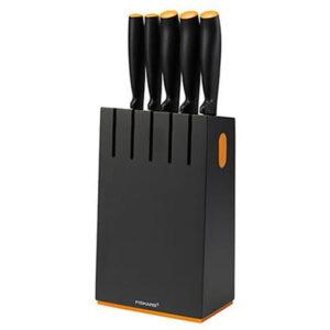 Набор 5 ножей в блоке Fiskars Functional Form (1014190)