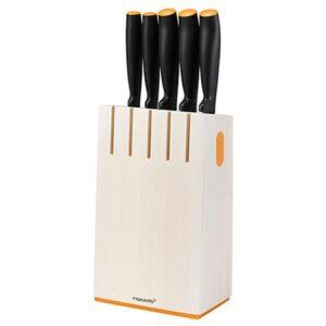 Набор 5 ножей в блоке Fiskars Functional Form (1014209)
