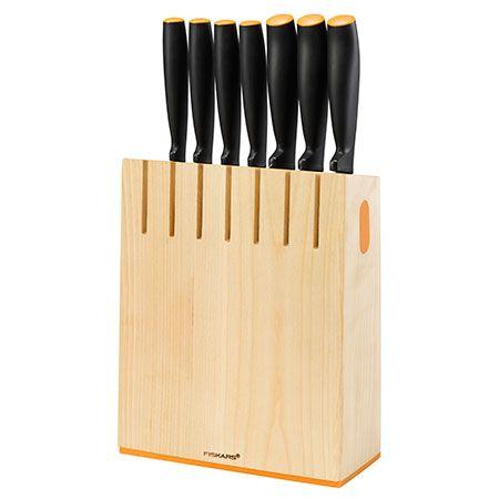 Набор 7 ножей в блоке Fiskars Functional Form (1018781)