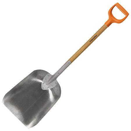Лопата для уборки снега и зерна Fiskars (142010)