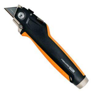 Нож для гипсокартона с пилкой Fiskars CarbonMax Drywaller Utility Knife (1027226)