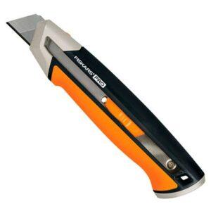 Нож с выдвижным лезвием Fiskars CarbonMax Snap-Off Knife 25 мм (1027228)