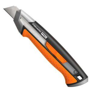 Нож с выдвижным лезвием Fiskars CarbonMax 18 мм (1027227)