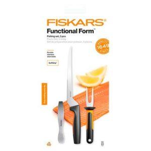 Набор ножей для рыбы Fiskars Functional Form Fishing Set (1057560)