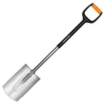 Лопата с закругленным лезвием Fiskars Xact M (131480)