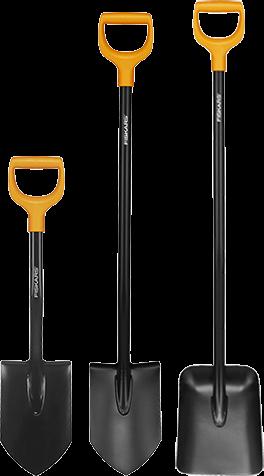 Лопаты Fiskars Solid